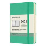 【2022年1月始まり】 モレスキン(MOLESKINE) グリーン ハード ポケット ウィークリー DHK4612WN2Y22 アイスグリーン 月曜始まり│手帳・ダイアリー ダイアリー
