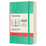 【2022年1月始まり】 モレスキン(MOLESKINE) グリーン ソフト ポケット デイリー DSK4612DC2Y22 アイスグリーン 月曜始まり│手帳・ダイアリー ダイアリー