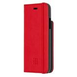 【iPhoneX】 モレスキン ブックタイプケース 718902 スカーレットレッド