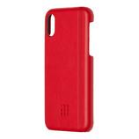 【iPhoneX】 モレスキン ハードケース 718933 スカーレットレッド