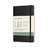 【2020年1月始まり】 モレスキン 12ヶ月クラシック ウィークリーダイアリー ソフトカバー ポケットサイズ ブラック 月曜始まり