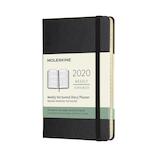 【2020年1月始まり】モレスキン 12ヶ月 ウィークリーダイアリー ホリゾンタル ハードカバー Pocket DHB12WH2Y20 ブラック