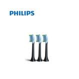 フィリップス アダプティブクリーンブラシ ブラシレギュラーサイズ HX9043/35 ブラック 3本セット