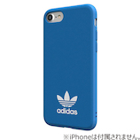 【iPhone8/7/6S/6】 adidas Originals TPU Moulded Case Bluebird/White