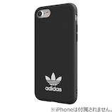 【iPhone8/7/6S/6】 adidas Originals TPU Moulded Case Black/White