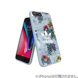 【iPhone8Plus/7Plus/6SPlus/6Plus】 adidasアートケース Floral