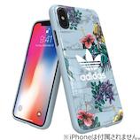 【iPhoneX】 adidasアートケース Floral