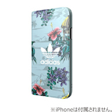 【iPhoneX】 adidas手帳ケース Floral
