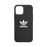 【iPhone12ProMax】 adidas Originals Moulded Case BASIC ブラック/ホワイト