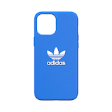 【iPhone12‌ProMax】 adidas Originals Moulded Case BASIC ブルーバード/ホワイト