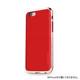 【iPhone6s】4.7インチ INO INFINITY クロム レッド×ゴールド