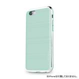 【iPhone6s】4.7インチ INO INFINITY クロム ミント×シルバー