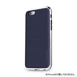 【iPhone6s】4.7インチ INO INFINITY クロム インディゴ×シルバー