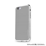 【iPhone6s】4.7インチ INO INFINITY クロム グレー×シルバー