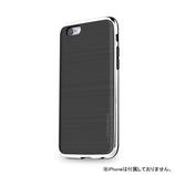 【iPhone6s】4.7インチ INO INFINITY クロム ブラック×シルバー