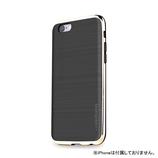 【iPhone6s】4.7インチ INO INFINITY クロム ブラック×ゴールド