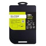 シルテック(SILTEQ) きれいのミカタ 丸めて煮沸除菌できるまな板 Mサイズ ブラック│包丁・まな板 ソフトまな板