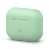 エラゴ(elago) AirPodsPro用シリコーンケース オリジナルベーシック パステルグリーン│携帯・スマホアクセサリー