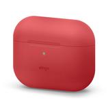 エラゴ(elago) AirPodsPro用シリコーンケース オリジナルベーシック レッド│携帯・スマホアクセサリー