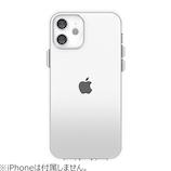 【iPhone12mini】 motomo INO ACHROME SHIELD ホワイト│携帯・スマホケース iPhoneケース