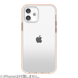 【iPhone12mini】 motomo INO ACHROME SHIELD ローズゴールド