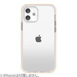 【iPhone12mini】 motomo INO ACHROME SHIELD ローズゴールド│携帯・スマホケース iPhoneケース