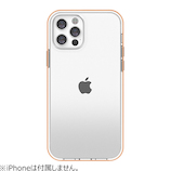 【iPhone12/12Pro】 motomo INO ACHROME SHIELD ローズゴールド│携帯・スマホケース iPhoneケース