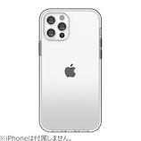 【iPhone12/12Pro】 motomo INO ACHROME SHIELD ブラック│携帯・スマホケース iPhoneケース