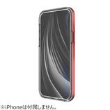 【iPhone12/iPhone12Pro】モトモ(motomo) イノ アクロム(INO ACHROME) シールド ケース レッド│携帯・スマホケース iPhoneケース