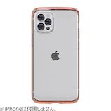 【iPhone12/12Pro】 motomo INO LINE INFINITY CLEAR クロームローズゴールド│携帯・スマホケース iPhoneケース