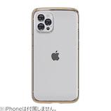 【iPhone12/12Pro】 motomo INO LINE INFINITY CLEAR クロームゴールド