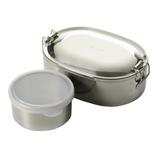 シーガル オーバルランチBOX 17㎝ デザートカップ付│お弁当箱 弁当箱