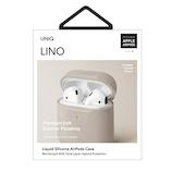 UNIQ LINO HYBRID LIQUID SILICON AIRPODS CASE UNIQ-AIRPODS-LINOBEG│オーディオ機器 AVアクセサリー