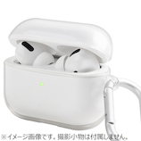 UNIQ GLASE AIRPODS PRO HANG CASE UNIQ-AIRPODSPRO-GLSGCLR│オーディオ機器 AVアクセサリー