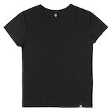 Boody クル−ネック Tシャツ S 黒│下着・インナー