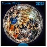 【2021年版・壁掛】デザストル コスミック ワールド LP版 カレンダー