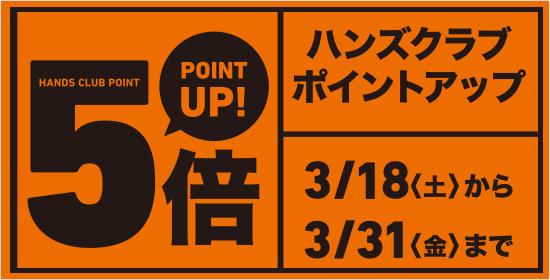 【ハンズクラブ全品ポイント5倍!】
