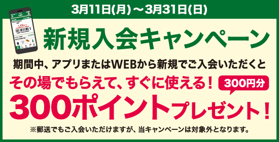 【ハンズクラブ会員新規入会キャンペーン】