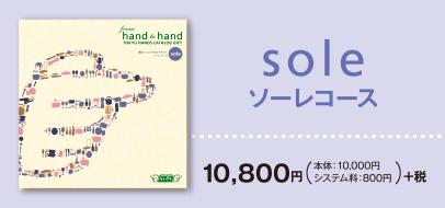 soleコース 10,800円 税別