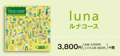 lunaコース 3,800円 税別