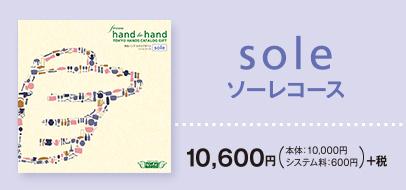 soleコース 10,600円 税別